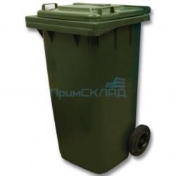 Мусорный контейнер 240л (бак на колесах, пластиковый с крышкой)