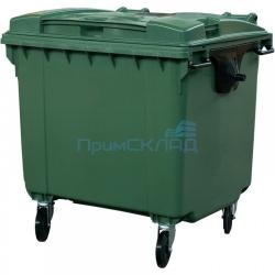 Мусорный контейнер. 660л (бак на колесах, пластиковый с крышкой)