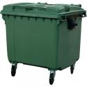Мусорный контейнер 660л (бак на колесах пластиковый с крышкой)