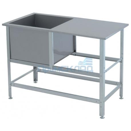 Ванна моечная со столом ВСМС -1/530