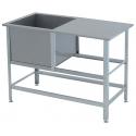 Ванна моечная со столом ВСМС -1/700