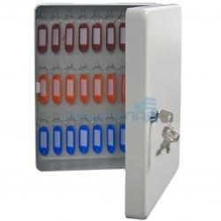 Металлическая ключница KB-50 настенная, с замком, на 50 ключей