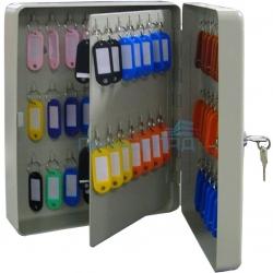 Металлическая ключница KB-70, навесная, с замком, на 70 ключей