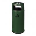 Урна уличная GPX-110D-10 зеленая