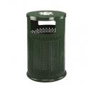 Урна уличная мусорная GPX-63-10 зеленая