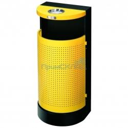 Урна уличная GPX-100 желтая