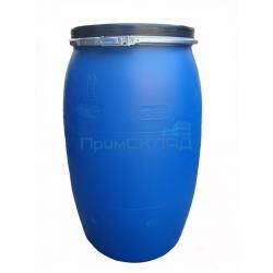 Бочка полиэтилен 127л. крышка, хомут, синяя (ЗТИ)