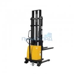 Штабелер гидравлический с электроподъемом 1т 1,6м DYC1016