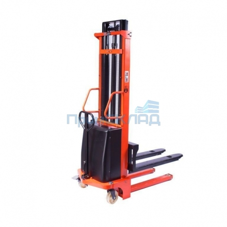 Штабелер гидравлический с электроподъемом 10/35, 1 т 3,5 м (CTD)