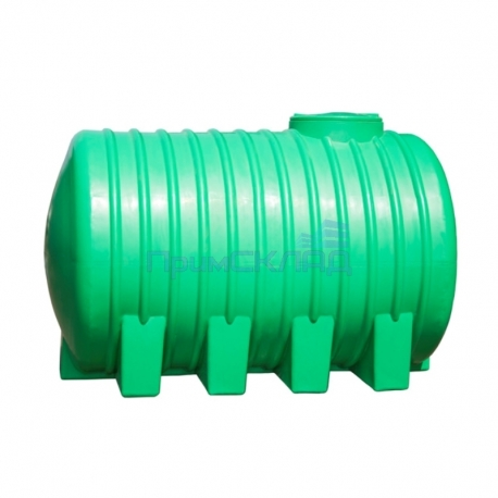 Емкость 3000л цилиндр-я горизонтальная на ножках (слон) 2040*1400*1500