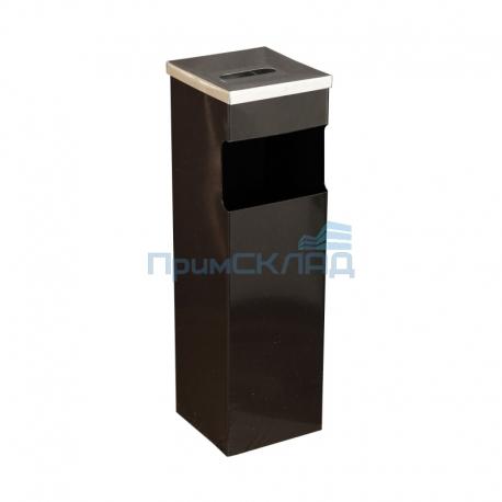 Корзина для бумаг с пеп. 180Н (черный)