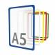 Рамка пластиковая стандартная с закругленными углами PF-A5