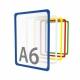 Рамка пластиковая стандартная с закругленными углами PF-A6