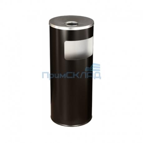 Корзина для бумаг с пеп. К250Н (черный)
