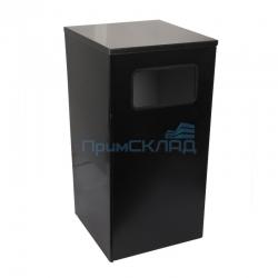 Урна Квадро-19 (черный)