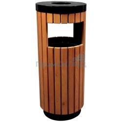 """Урна-пепельница """"Wood"""" (отделка деревом)"""