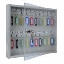 Ключница с прозрачной дверцей из оргстекла КЛС-20
