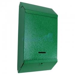 """Почтовый ящик уличный """"П/Я"""" под навесной замок (RAL 6029 зеленый шагрень)"""
