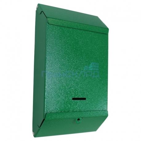 """Индивидуальный почтовый ящик """"П/Я"""" под навесной замок (RAL 6029 зеленый шагрень)"""