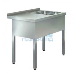 "Ванна моечная с рабочей поверхностью ""ASSUM-Premium"" ВРП-5/12-П (1200х700х850)"