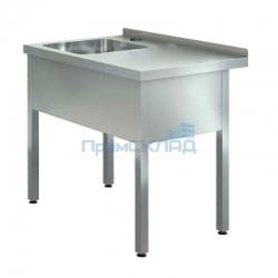 "Ванна моечная с рабочей поверхностью ""ASSUM-Premium"" ВРП-5/12-Л (1200х700х850)"