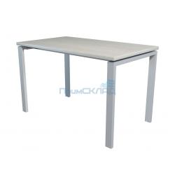 Стол NT 120x70 белое дерево/серый