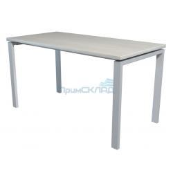 Стол NT 140x70 белое дерево/серый