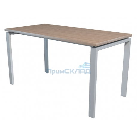 Стол NT 140x70 вяз натуральный/серый