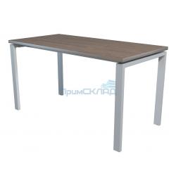 Стол NT 140x70 темный орех/серый