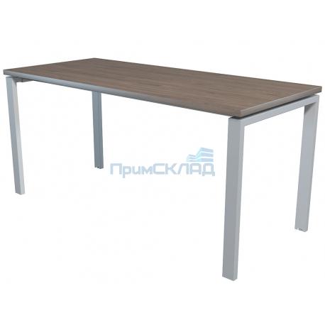 Стол NT 160x70 темный орех/серый