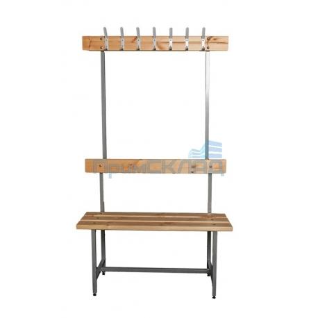Скамья для раздевалки с вешалкой СВТ-4
