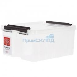 Контейнер с крышкой и клипсами 2,5 литра
