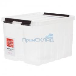 Контейнер с крышкой и клипсами 3,5 литров