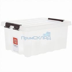 Контейнер с крышкой и клипсами 16 литров