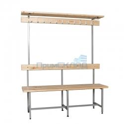 Скамья для раздевалки с вешалкой СВТ-8