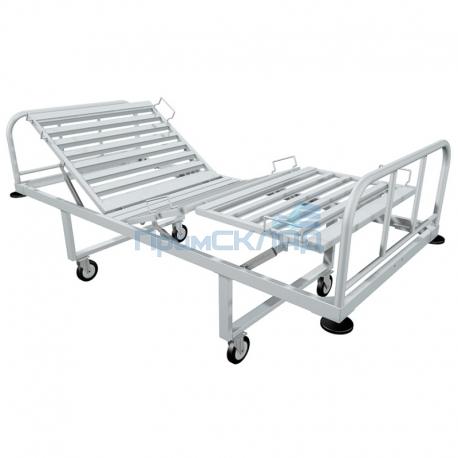 Кровать медицинская металлическая КМ-03