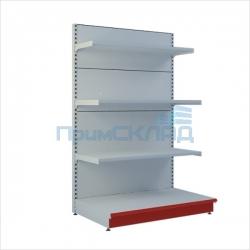 Cтеллаж пристенный 1750(1250 мм) 500х1-400х1-300х2