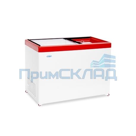 Ларь морозильный Снеж МЛП-400 (красный)
