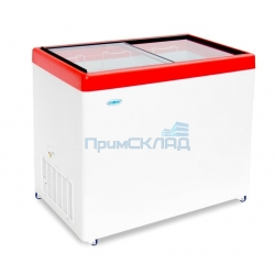 Ларь морозильный Снеж МЛП-350 (красный)
