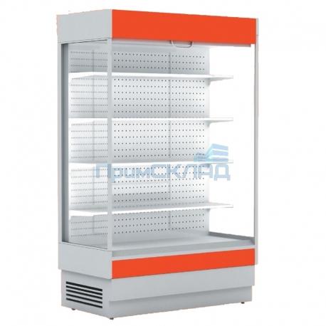 Горка холодильная ALT_N S 1350 ББ без боковин (+1...+10) RAL3002