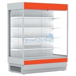 Горка холодильная ALT_N S 2550 ББ без боковин (+1...+10) RAL3002