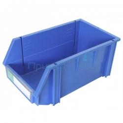 Ящик пластиковый №3 15/150кг (155х200х350) синий