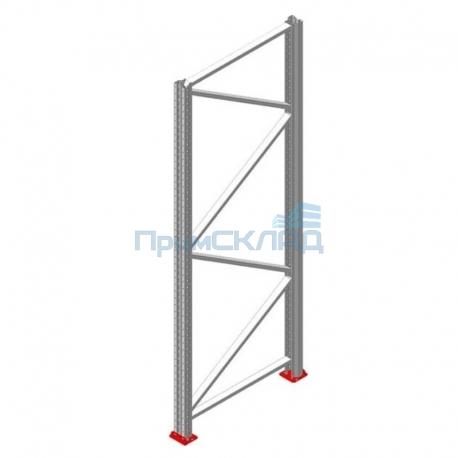 Рама для фронтального паллетного стеллажа РП90х1,5х4000 (высота 4 метра)