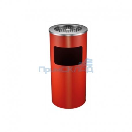 Урна с пепельницей GPX-12B-06 D250x610 (крас.)