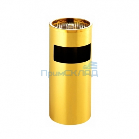 Урна-пепельница GPX-12B-01 D250x610 (зол.)