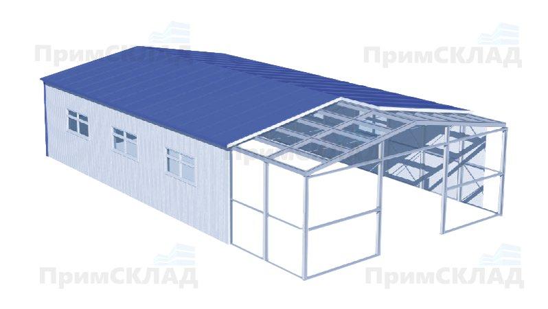 Быстрое строительство складов